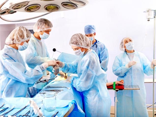 кома во время операции